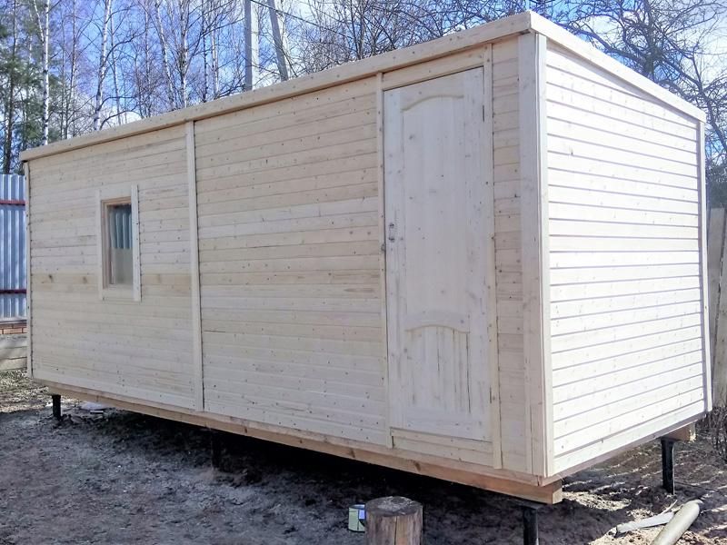 бытовка деревянная, бытовка строительная деревянная, бытовка прорабская